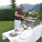 Grillabend im Alpenhof Obsteig - Sonnenplateau Mieming