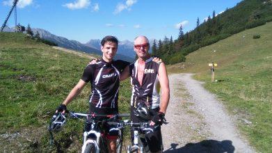Mountainbiketour Wohlfühlpension Alpenhof Obsteig - Sonnenplateau Mieming