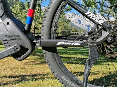 E-Bike am Mieminger Plateau