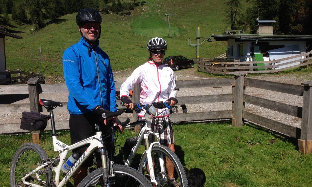 mtb touren rund um Wohlfühlpension Alpenhof Obsteig - Sonnenplateau Mieming