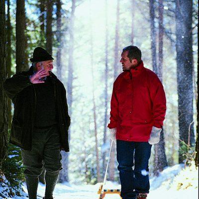 Winterwandern relaxen die Natur geniessen