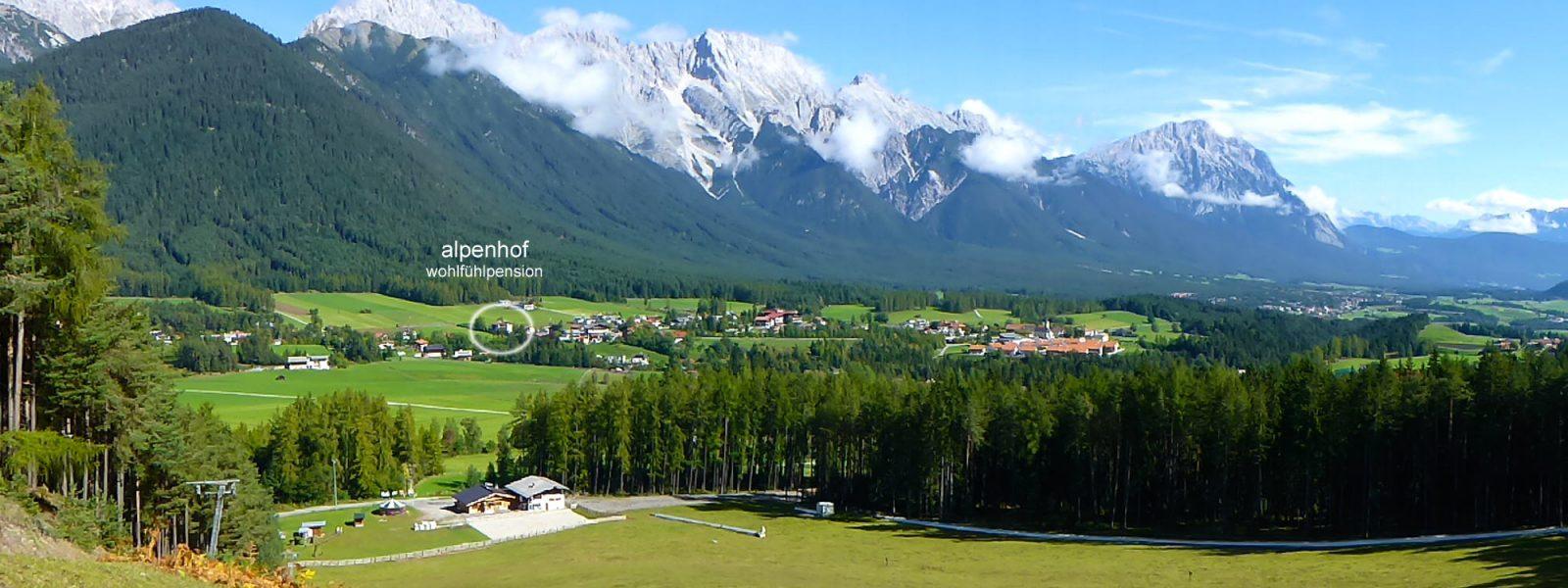 Vom Grünberg zum Alpenhof