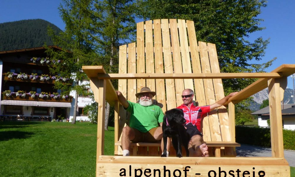 Wohlfühlpension Alpenhof Obsteig - Sonnenplateau Mieming
